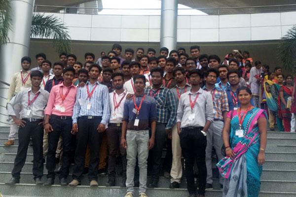 Computer Science Dept Industrial Visit to Syntel -Seresuri Premises, on 21 Sep 2016