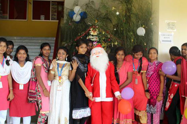 Dept of Computer Application -  Christmas Celebration 2017, on 23  Dec 2017