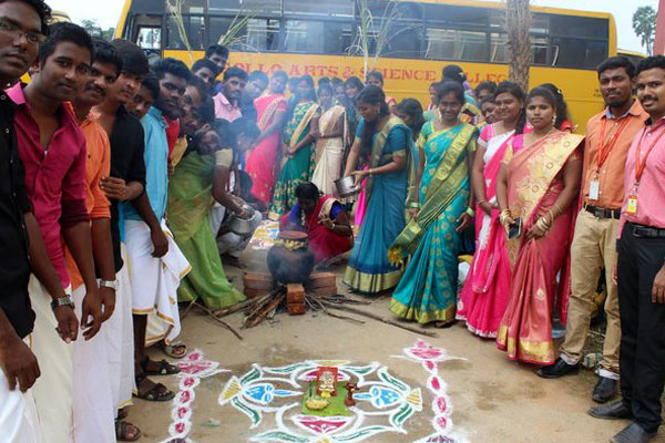 Pongal Celebration 2018, on 12 Jan 2018